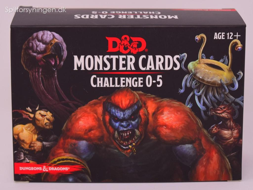 D&D 5th Ed. Monster Cards Challenge 0-5