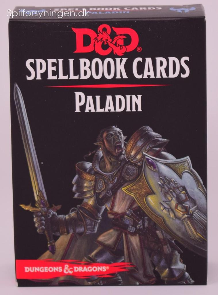 D&D 5th Ed. Paladin Spellbook Cards