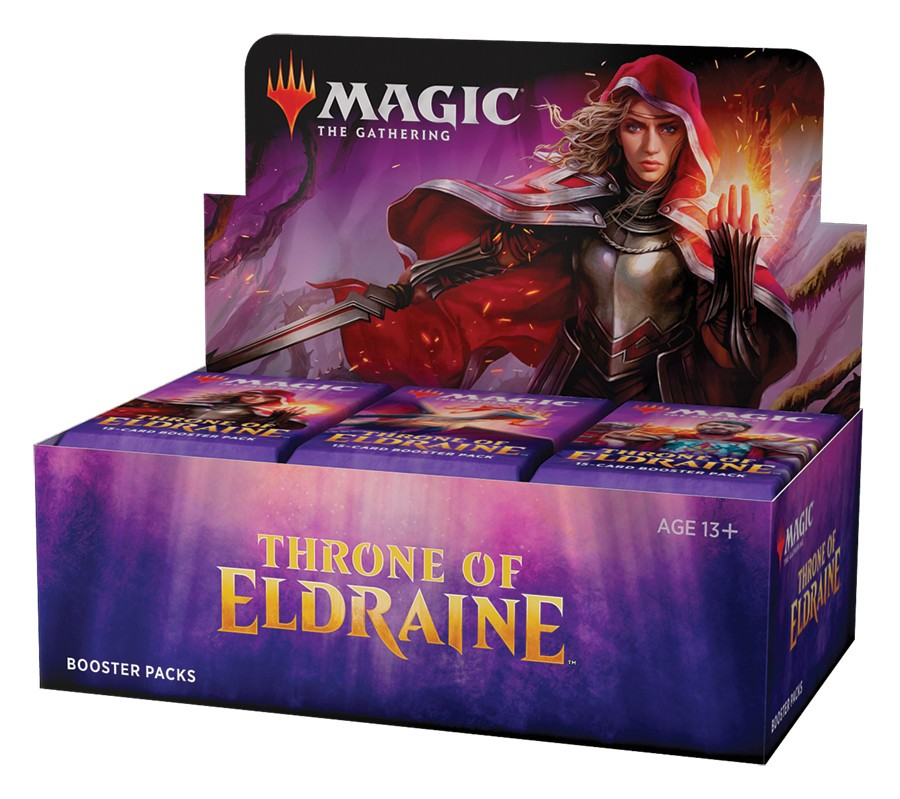 Magic Throne of Eldraine Display